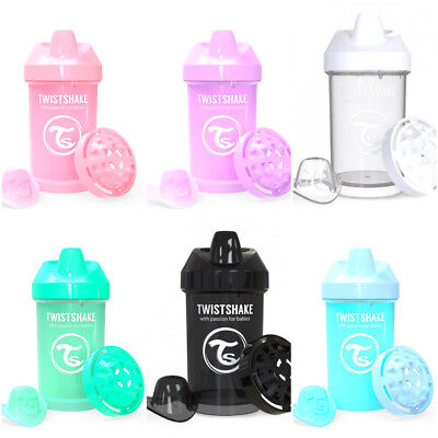 Twistshake Twist Shake Crawler Cup Bottle Beaker Spill free Spout 8+m 300ml