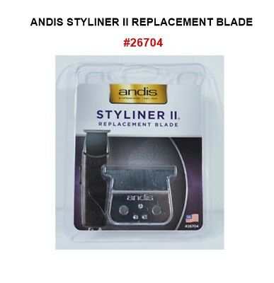 Andis STYLINER II REPLACEMENT BLADE, FITS D-1, D-2, SLII, SLSII, SL3 #26704