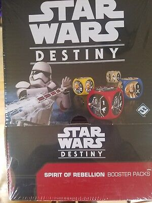 Star Wars Destiny Spirit of rebellion Booster Box New Sealed 36 packs