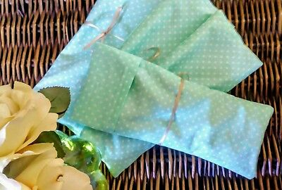 Eye Pillow Flax with Peppermint Essential Oil Headaches*Migraines*Sinus*Hangover