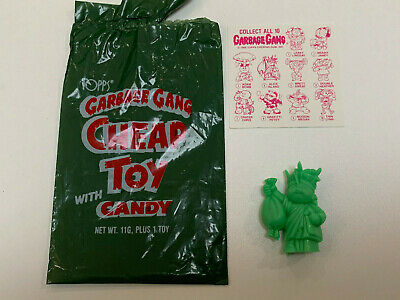 1986 UK Ireland Garbage Pail Kids CHEAP TOY 2: Brainy Janey - Aqua (Cheap Toys)