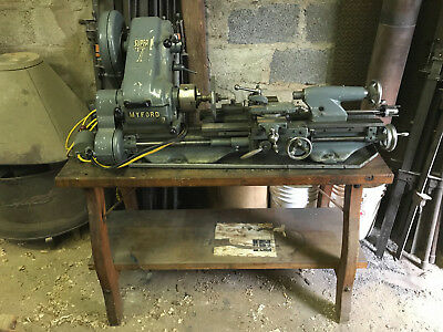 MyFord Super 7 Metal Lathe, complete with EVERY accessory LOCAL PICK UP ONLY