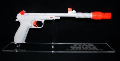 Acrylic display stand for Star Wars Princess Leia Defender blaster prop
