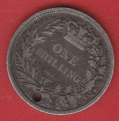 Great Britain 1 Shilling  Silver