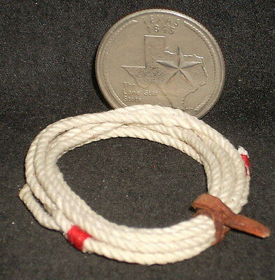 Lasso / Lariat 1:12 Animal Western Mexican Import #L512 Dollhouse Miniature