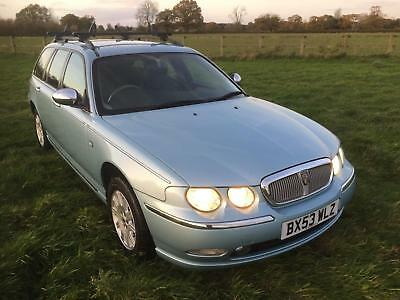 Rover 75 Tourer 1.8T Connoisseur Estate Car. One Retired Owner From New With FSH