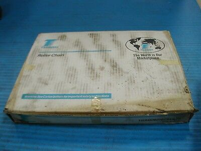 Tsubaki Roller Chain C-2080 Hollow Pin 10Ft New In Box I5