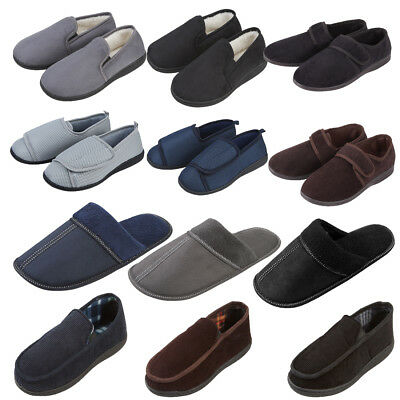 bdd0c2b50 Mens Slipper Collection Pierre Roche Colours Styles Mule Soft & Durable  Moccasin