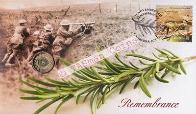 Australia - 2017 - Remembrance Day PNC - RAM $2 Coin Limited Edition 8000