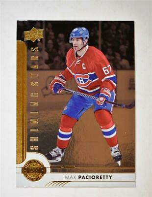 2017-18 Upper Deck UD Series 1 Shining Stars Left Wingers 8 Max Pacioretty
