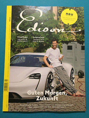 EDISON Das Magazin der Generation E 01/2017 ungelesen 1A absolut Top