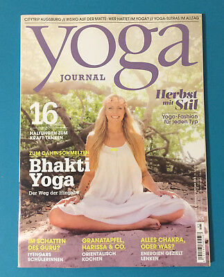 YOGA No°5 September/Oktober 2015  ungelesen 1A absolut TOP