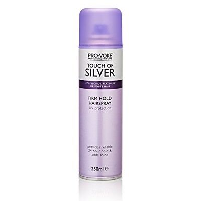 Touch Of Silver Hairspray For Blonde Platinum or White Hair 250ml