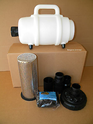 """Carpet Cleaning Mytee 2"""" Lint Hog - Vac Filtration W/2"""" Hose Connect"""