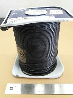 ( 10 FT ) Belden 8216-010-BLK (26 Awg) Coaxial Cable 50 ohms RG-174/U