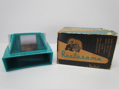 Vintage Realorama SLIDE VIEWER 35MM and Superslides - NO BATTERIES NEEDED