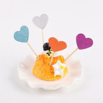 Cake Girl Baby Shower Wedding Party Decor Cupcake Toppers Birthday Decoration