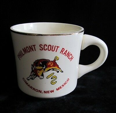 Vintage Boy Scouts of America BSA Philmont Scout Ranch Cimarron Coffee Mug Cup