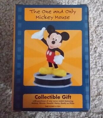 "Mickey Mouse figurine ""The One and Only"" collectible gift from Lorus"