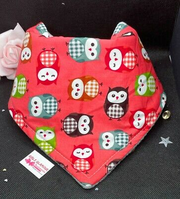 Dress Nappy Boho Baby Bandana Dribble Bib Bibs My Little Fox Foxy Fabric