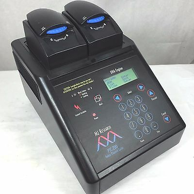 MJ Research PTC-200 PCR DNA Engine Thermal Cycler w/ Dual 48-Well Alpha Block