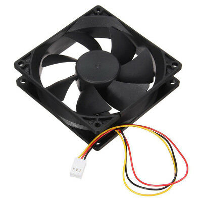 3Pin 90mm 25mm Cooler Fan Heatsink Cooling Radiator For Computer PC CPU 12V D4K2