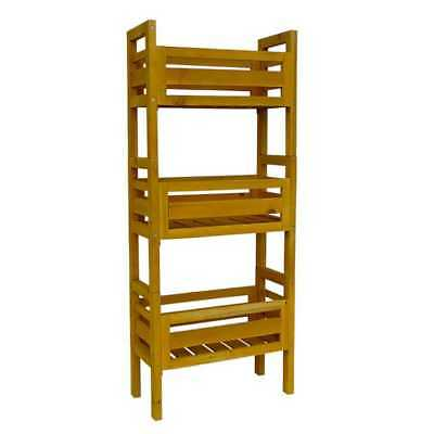 Leisure Season Wooden Stacking Plant Stand PBS7117