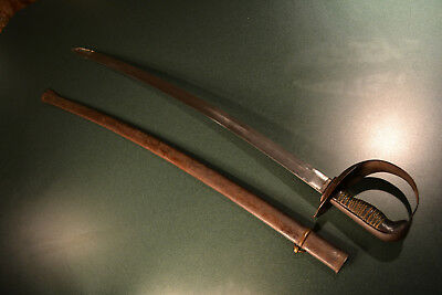 ANTIQUE NICE RARE SPANISH CAVALRY SWORD SABER 19th CENTURY TOLEDO MADE SPAIN