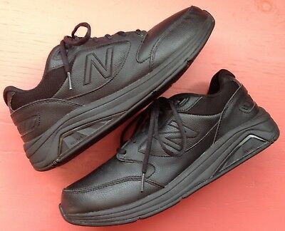 a06540bfee684 New Balance 928 black walking shoes leather sneakers MENs US sz 10 ~  EXCELLENT