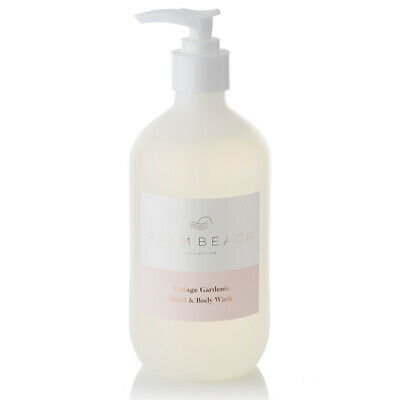 NEW Palm Beach Collection Vintage Gardenia Hand & Body Wash