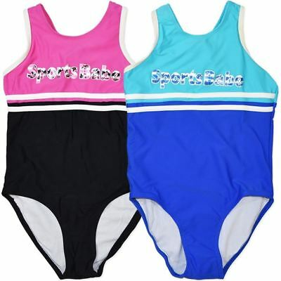 New Girls  Swimwear Swimsuit One Piece Swim  Size 7,8,10,12,14,16