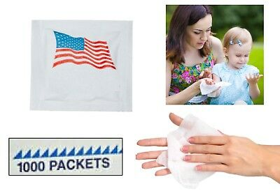PREMIUM Wet Wipes 1000 Counted SCENTED MOIST BULK Hotel Restaurant Travel USA