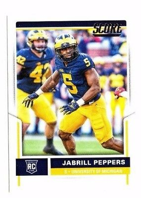 Jabrill Peppers , (Rookie) 2017 Panini Score, #357 , Football Card !!