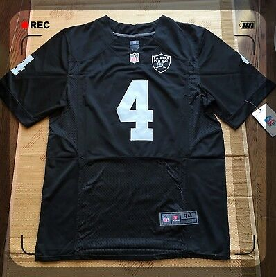 Nfl Raiders#4 Carr Jersey