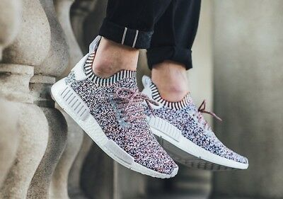 c0f1021cb02 BW1126 ADIDAS NMD R1 PK PRIMEKNIT MULTI STATIC COLOR NO SIGNAL PACK UK 9