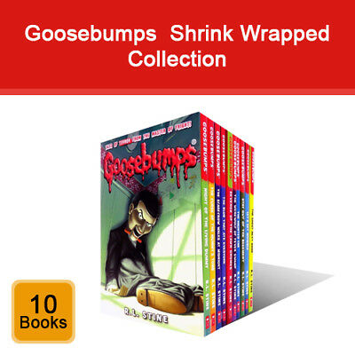 Goosebumps series R.L. Stine 10 books collection set pack Ghost Next Door NEW