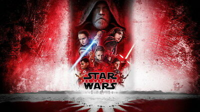 "053 Star Wars The Last Jedi - Daisy Ridley Action USA 2017 Movie 24""x14"" Poster"