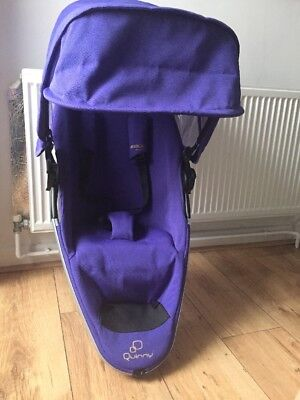 quinny zapp xtra 2 Foldable Seat Unit Purple