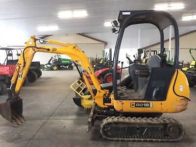 2006 Jcb 8018 Mini Excavator Expandable Track Width Low Hours. Great Value!!!!
