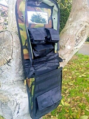Versatile Army Wash - Kit Organiser - First Aid Bag Waterproof Dpm Camo Camping