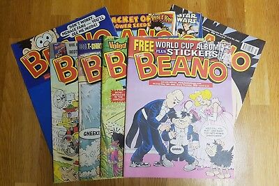 Beano Comics Vintage 1997 - 2002 Over 150 available! 99p for 2!!