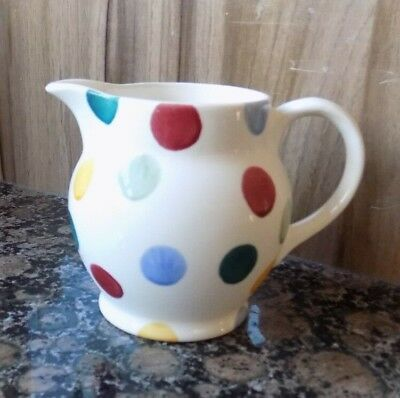 emma bridgewater  Polka Dot 1/4 pint jug new
