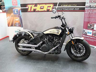 Indian SCOUT 60 CUSTOM BOBBER,BRAND NEW 2017,JUST FINISHED,1 OFF .£12950