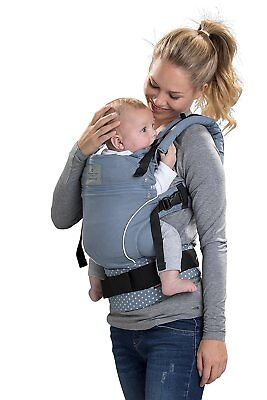 Bellybutton by Manduca Babycarrier WildCrosses blue