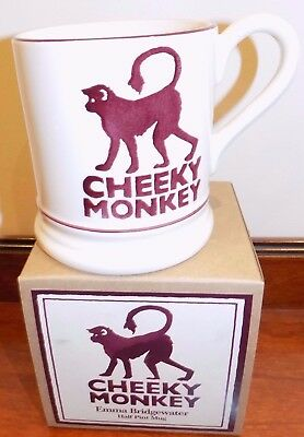 Emma Bridgewater   Cheeky Monkey 1/2 Pint   Mug    New