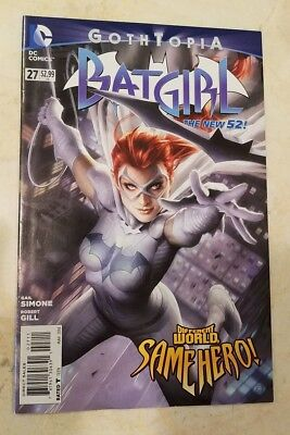 Batgirl (2011) #27 HOT DC Comics New 52 Gothtopia Batman JLA Justice League!