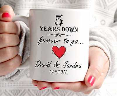Th wedding anniversary gift years marriage any dates names