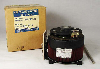 New in Box NOS General Electric GE Volt-Pac 9T92A1515 Transformer TMV-5