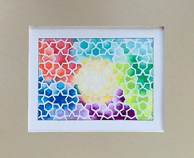 Original Traditional Geometry Art-Pattern-Decorative-Gift Idea- G29