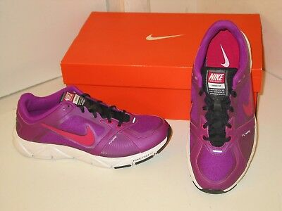 newest 537a7 bc195 Nike Free XT Quick Fit+ Plus + Training Athletic Purple Red Plum Shoes  Womens 9